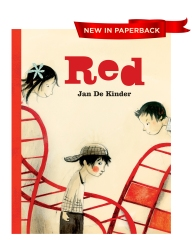 RED children's book by Author and Illustrator Jan De Kinder kids book red
