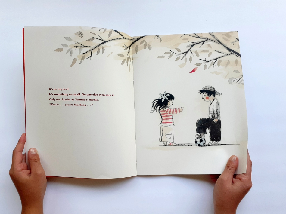 RED Children's book for kids