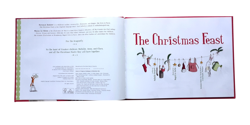 The Christmas Feastkids books about christmas