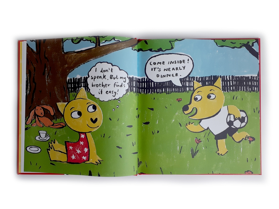 Talking is Not My Thing Written and illustrated by Rose Robbins