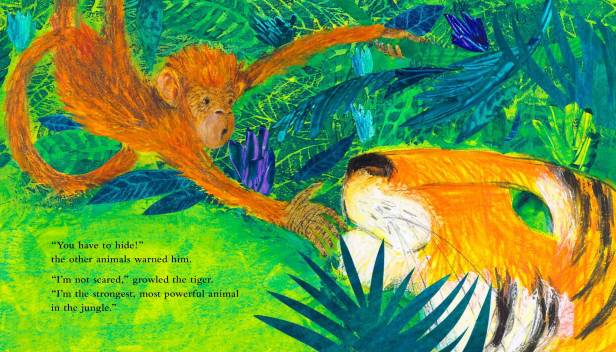 The Last Tiger children's book written and illustrated by Petr Horacek