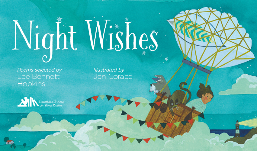 EBYR - Night Wishes - Interior children's bookpage Lee Bennett Hopkins