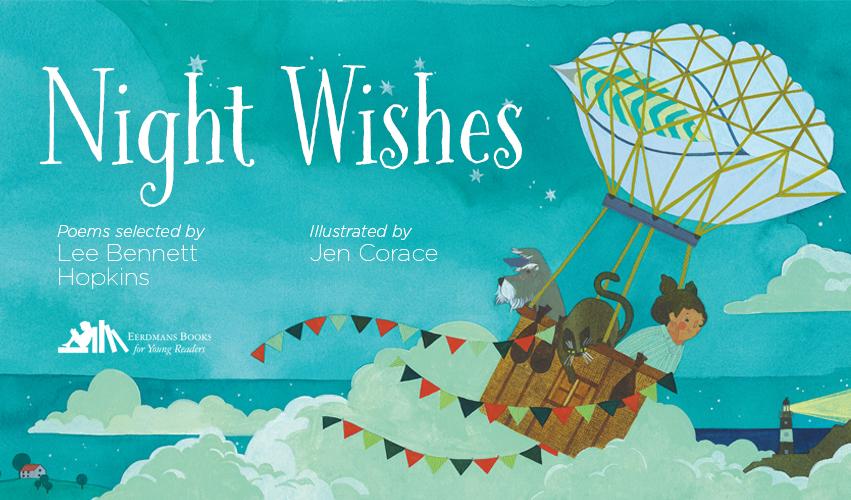 EBYR - Night Wishes - Interior children's bookpage Lee Bennett Hopkins