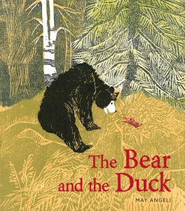 The Bear and the Duck illustrated picture book for kids