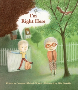 I'm Right Here childrens book