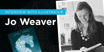 Children's books Illustrator Jo Weaver