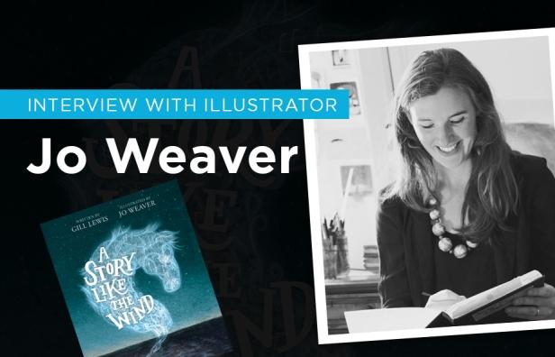 Children's books Illustrator Jo Weaver