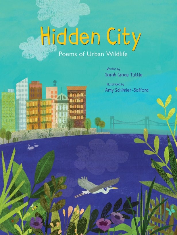 Hidden City Poems of Urban Wildlife kids books picture books for children