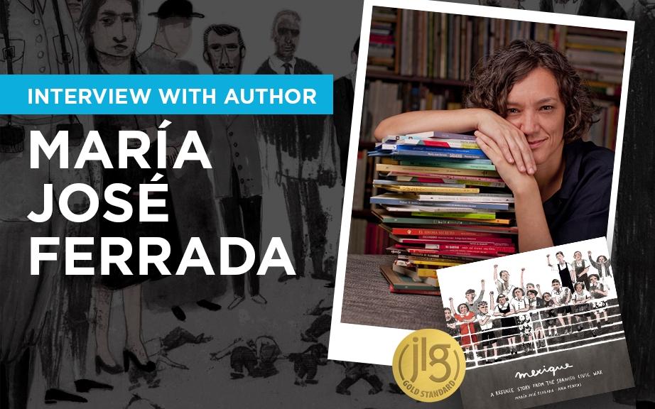 Interview with children's book author María Jose Ferrada