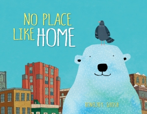 No Place Like Home illustrated picture book for kids
