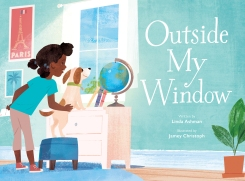 Outside My Window children's book for kids illustrated picture book