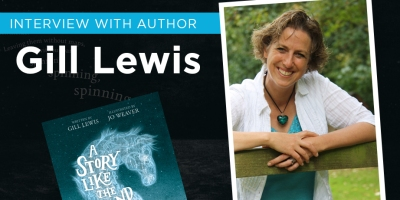 Interview with children's book author Gill Lewis kids books