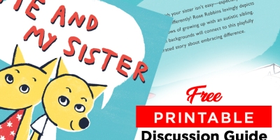 Me and My Sister Children's Books Discussion Guide