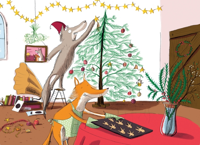 The Christmas Feast Kids book for children