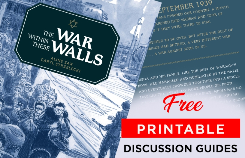 The War within These Walls discussion guides