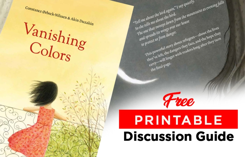 Vanishing Colors Children's Books Discussion Guide kids books