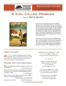 Free Printable Birdie (Eileen Spinelli) Verse Novel Discussion Guide