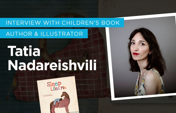 Interview with Children's book author and illustrator Tatia Nadareishvili Picture book for kids