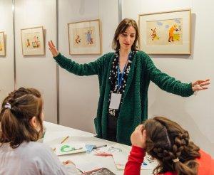 Children's book author and illustrator Tatia