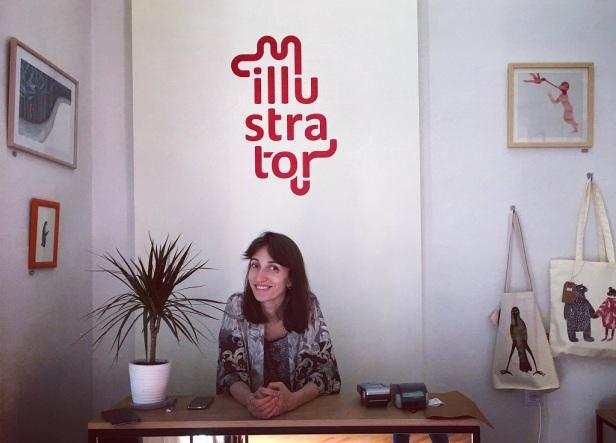 Children's book author and illustrator Tatia Nadareishvili kidslit