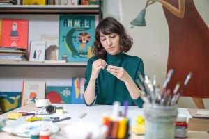 Children's book author and illustrator Tatia Nadareishvili