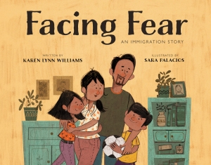 Facing Fear Illustrated book kidslit