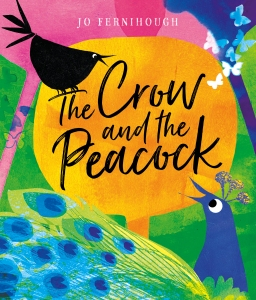 The Crow and the Peacock childen's book