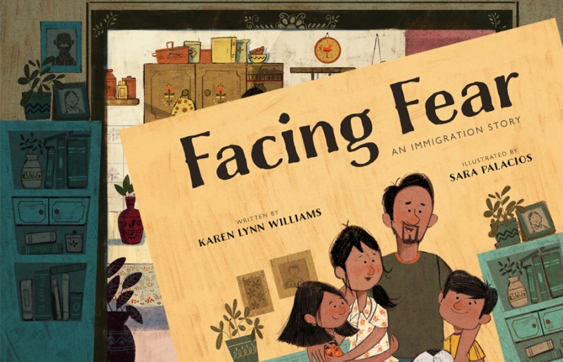 Facing Fear children's book about immigration