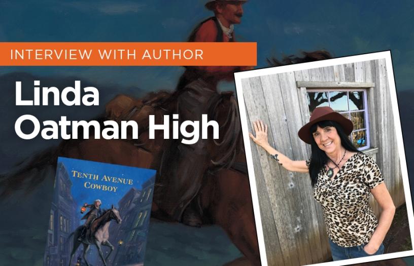 INTERVIEW with Children's book author Linda Oatman