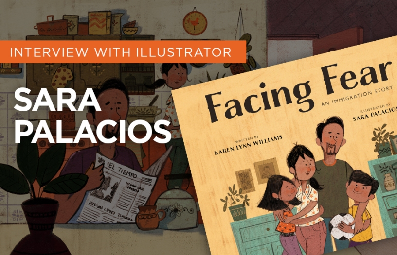 INTERVIEW with Children's book illustrator SAra Palacios