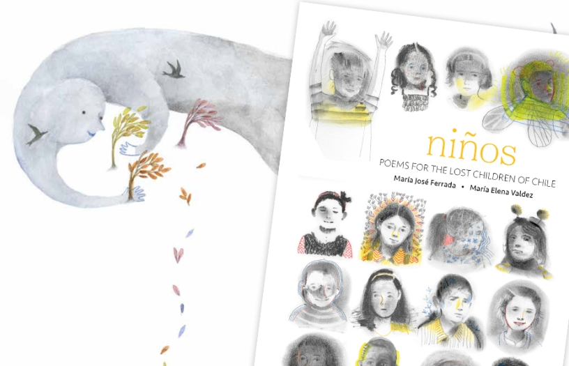 Niños Poems for the Lost Children of Chile Hardcover Picture Book