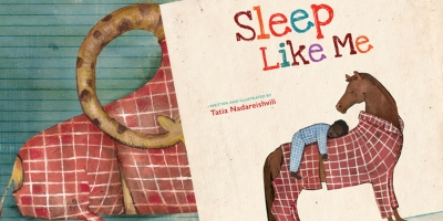 Sleep Like Me Children's book award winning book kidslit