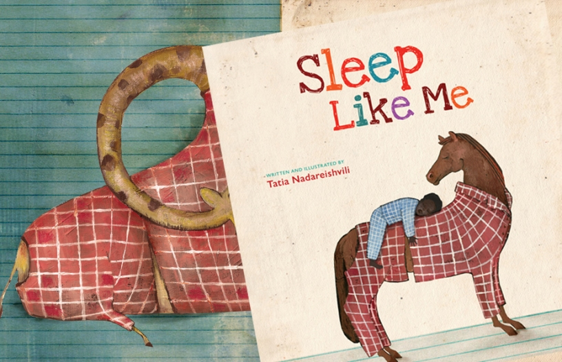 Sleep Like Me Children's book award winning book kidslit