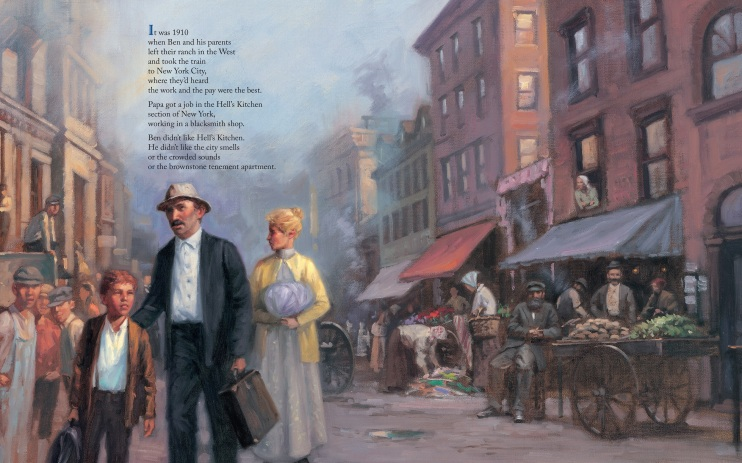 Tenth Avenue Cowboy children's picture book