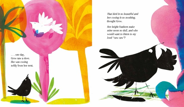 The Crow and the Peacock - Interior_v5-5 picture book for kids