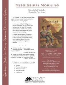 free kids books discussion guides for teachers Mississippi Morning