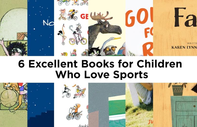 Childrens books on sports kids literature